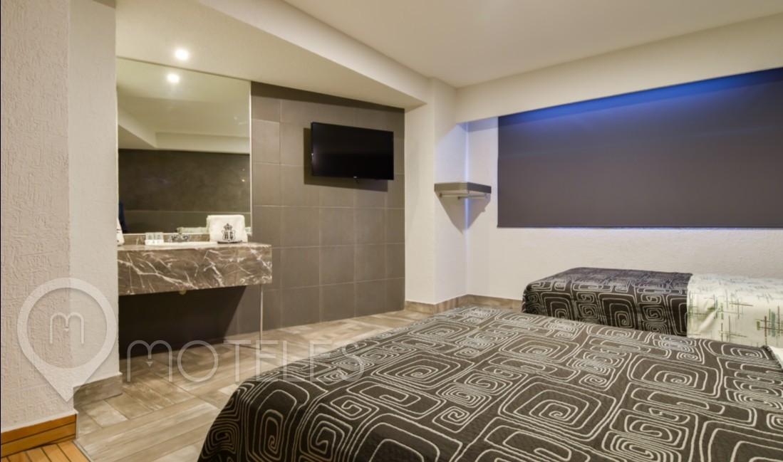 Habitacion Jacuzzi Doble del Motel Gracia