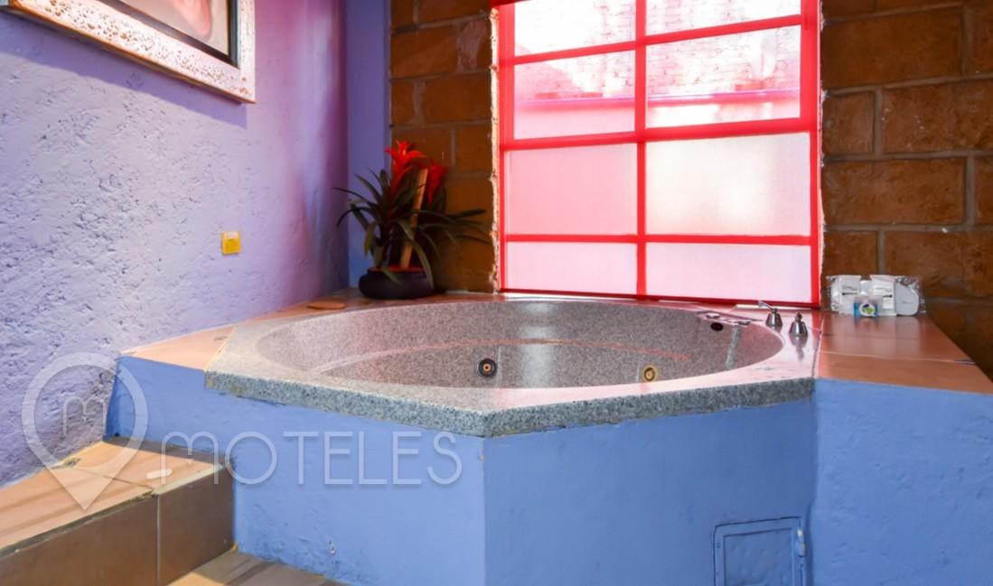 Habitacion Villa Jacuzzi del Motel Hacienda Coyoacán
