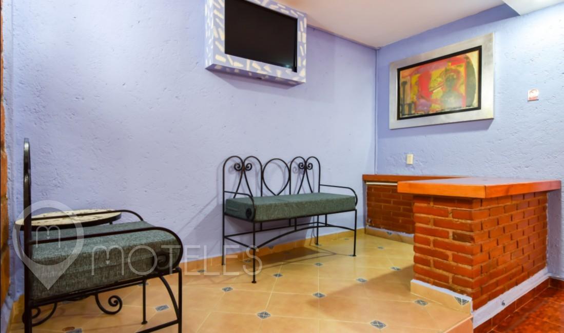 Habitacion Villa Sencilla del Motel Hacienda Coyoacán