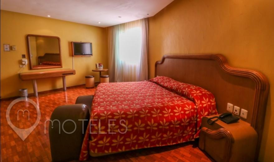 Habitacion Jacuzzi del Motel Hollywood Hotel & Villas