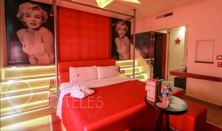 Habitacion Nueva del Motel Hollywood Hotel & Villas