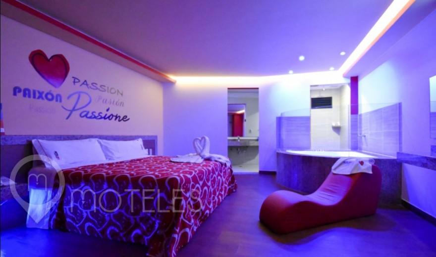 Habitacion Jacuzzi del Motel Hot Insurgentes