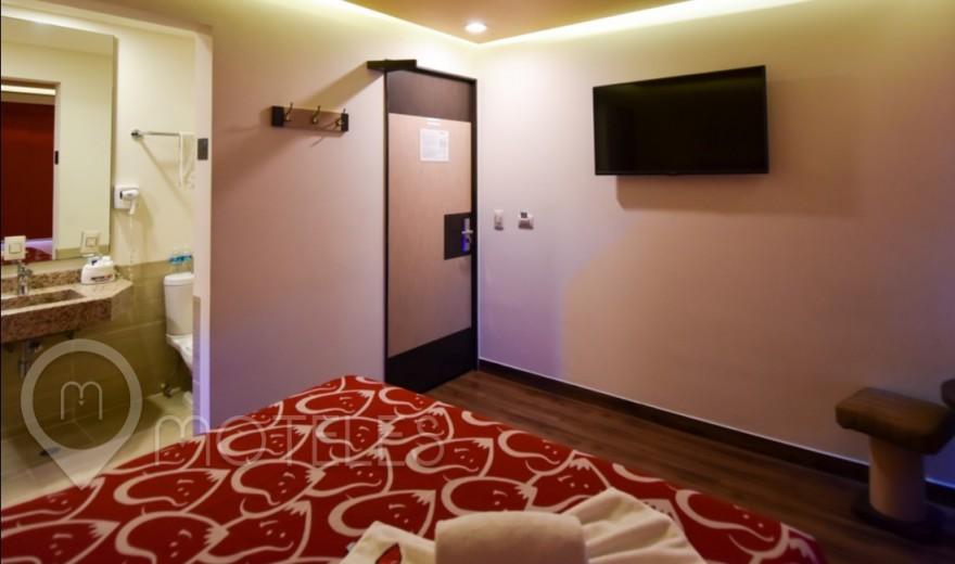 Habitacion Mini del Motel Hot Insurgentes
