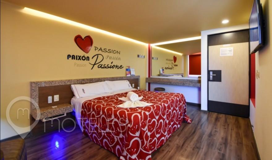 Habitacion Standard del Motel Hot Insurgentes