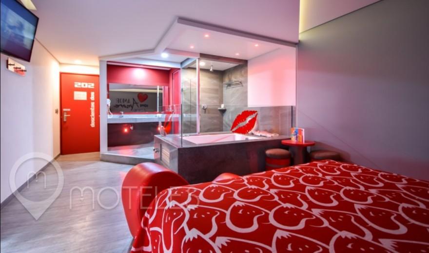Habitacion Jacuzzi del Motel Hot Narvarte