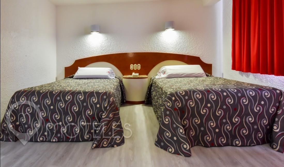 Habitacion Torre Doble  del Motel Hotel Ecatepec
