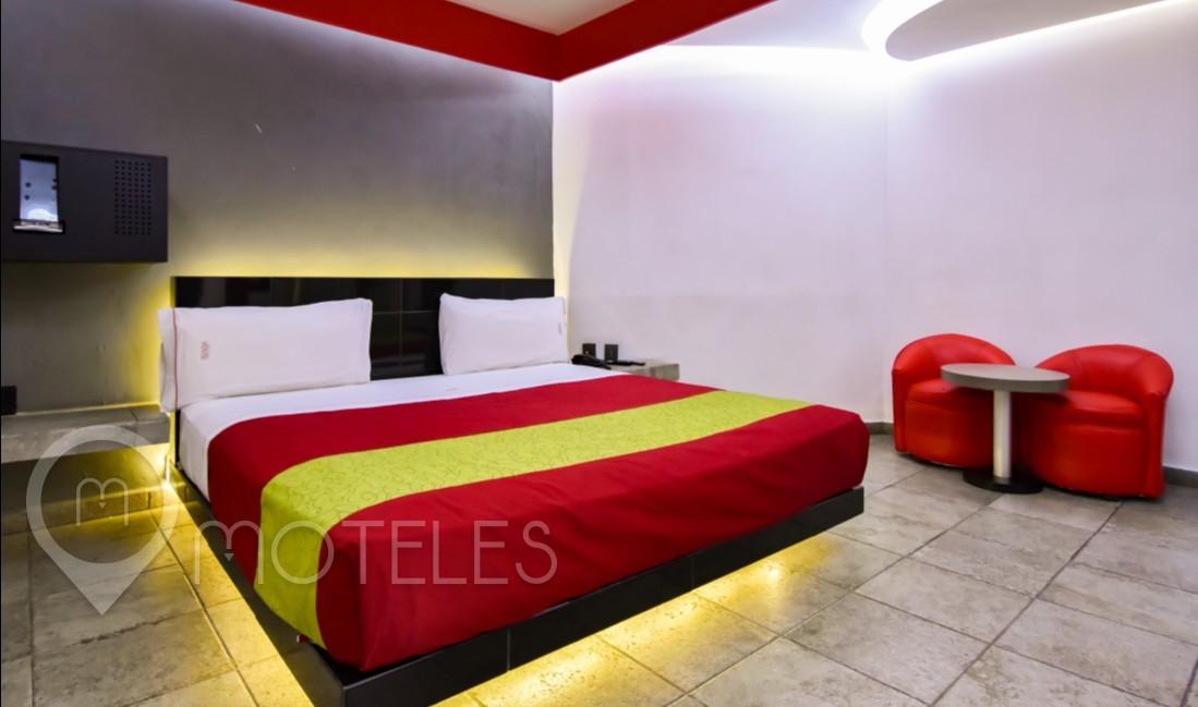 Habitacion Villa Jacuzzi  del Motel Hotel y Villas Vento