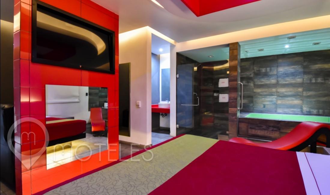 Habitacion Villa Jacuzzi VIP  del Motel Hotel y Villas Vento