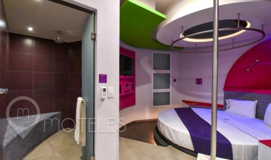 Habitacion Suite Jacuzzi del Motel Hotel y Villas Sfera