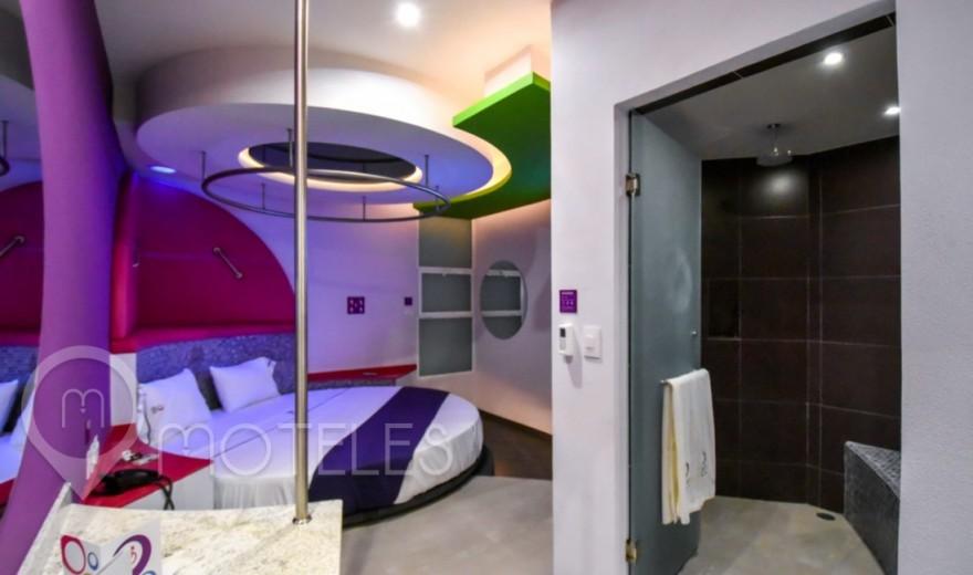 Habitacion Villa Standard del Motel Hotel y Villas Sfera