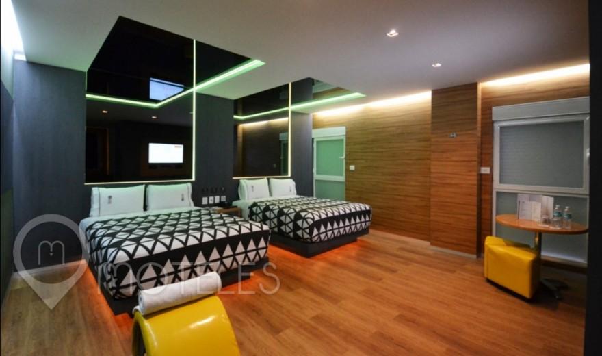 Habitacion Suite Doble del Motel Interlove