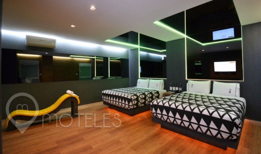 Habitacion Suite Doble del Motel Interlove