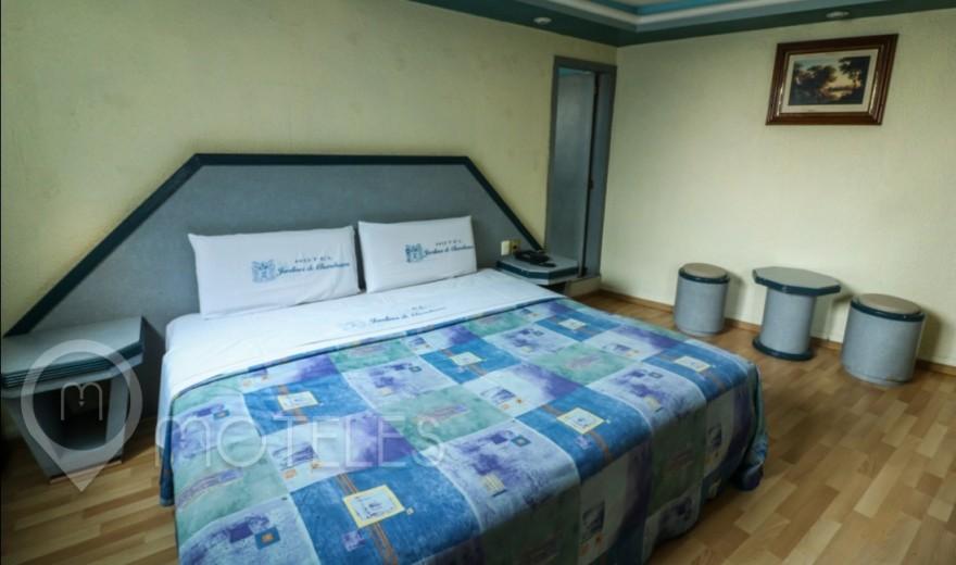 Habitacion Normal del Motel Jardines de Churubusco Hotel & Villas