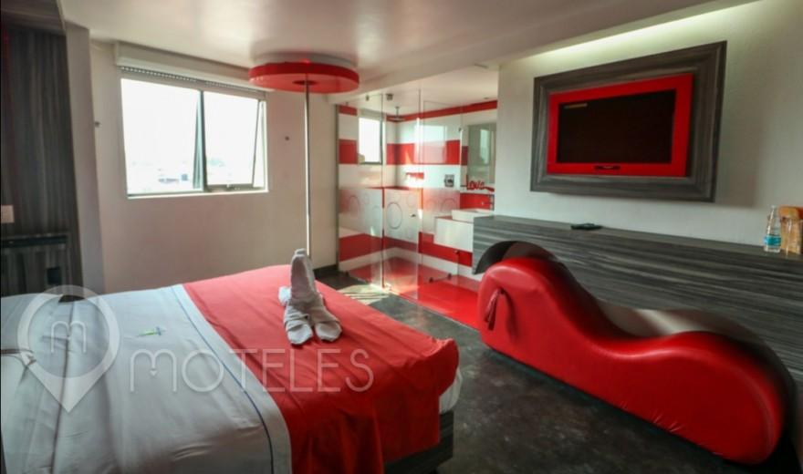Habitacion Nueva del Motel Jardines de Churubusco Hotel & Villas