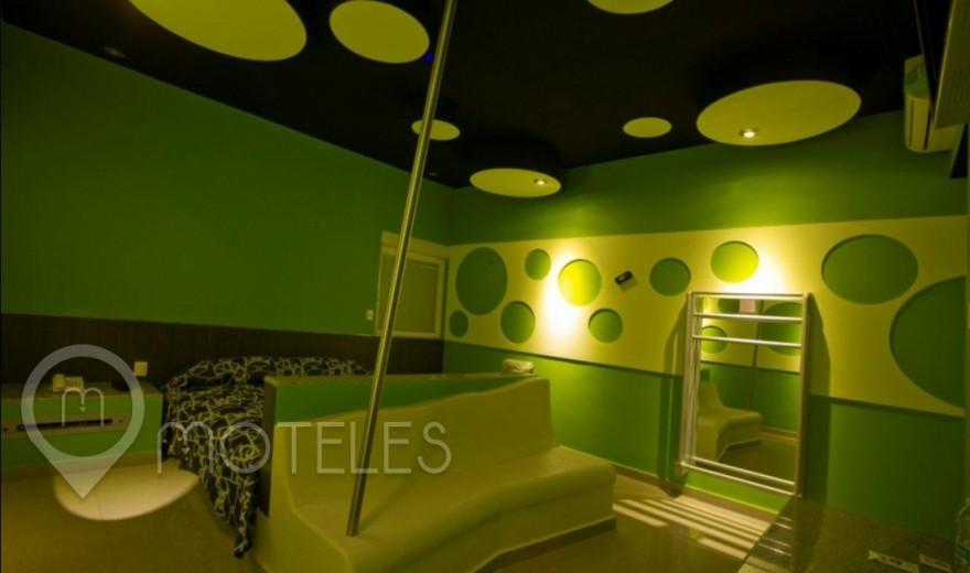 Habitacion Torre Sencilla del Motel Ke Color