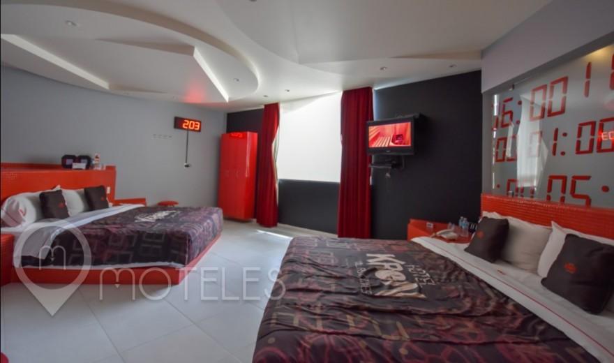 Habitacion Torre Doble del Motel Kron Villas & Suites