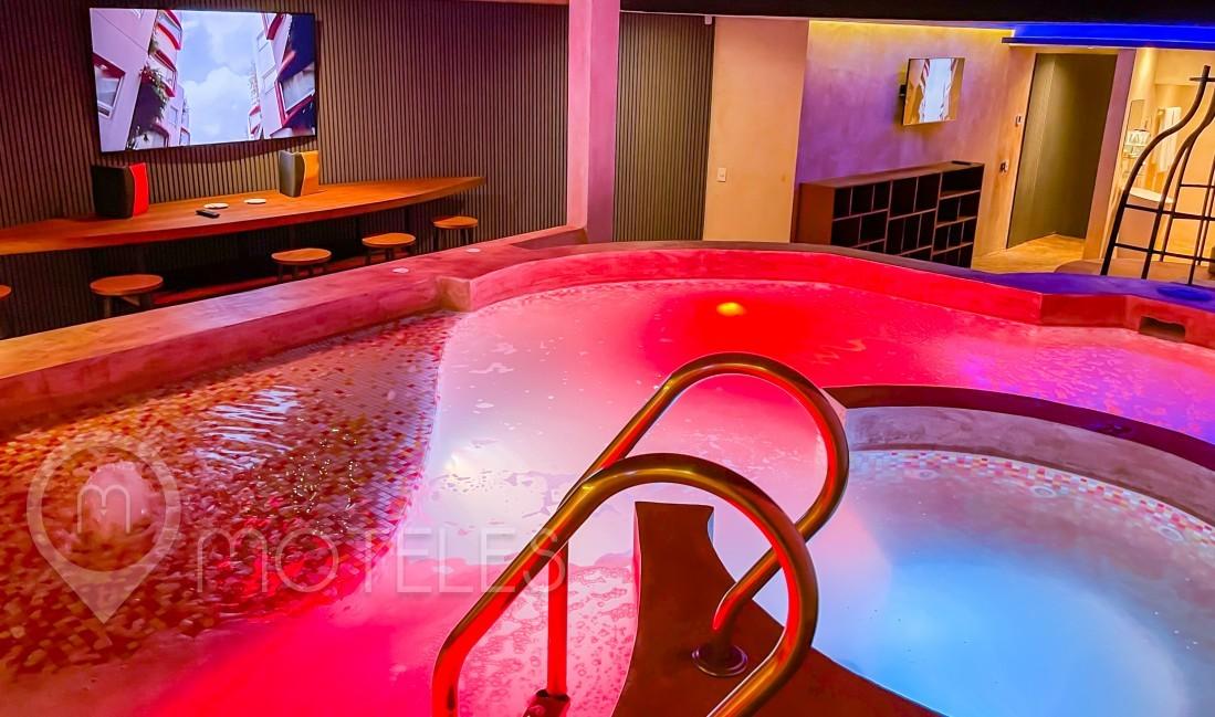 Habitacion Villa Presidencial del Motel Kron Villas & Suites