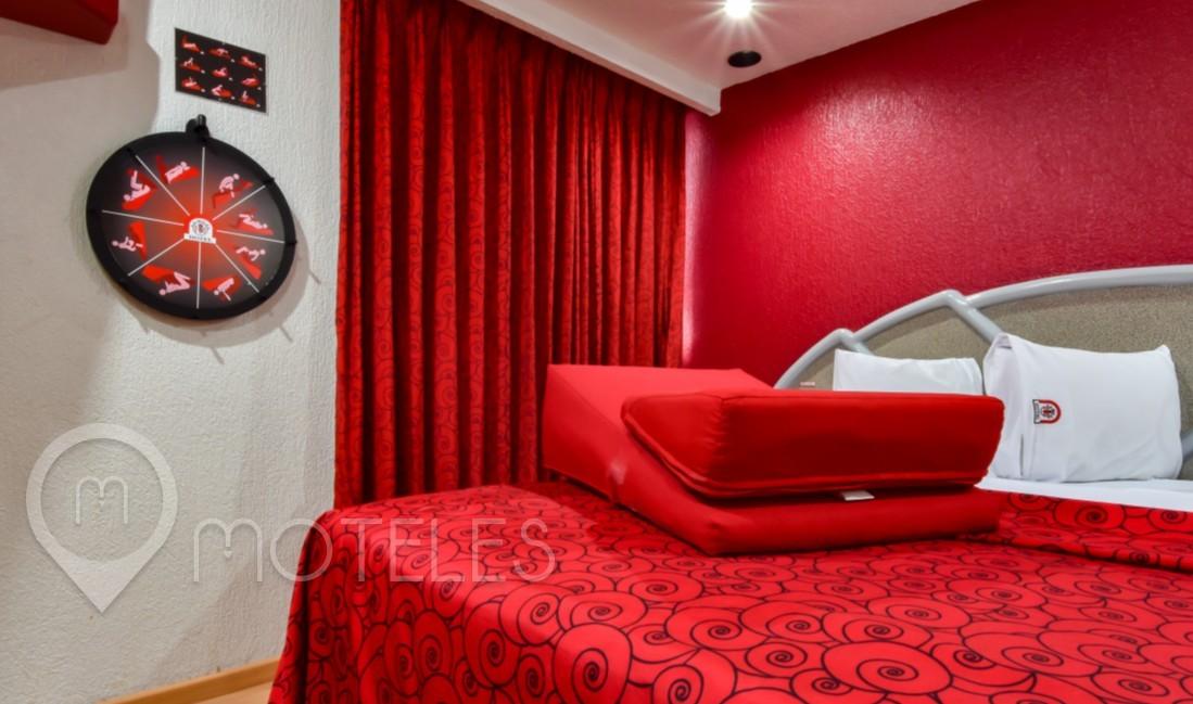 Habitacion Cojines del Amor del Motel La Milpa