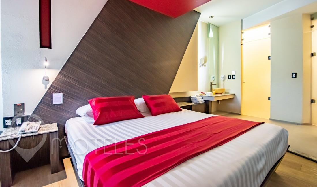 Habitacion Torre Sauna del Motel La Moraleja Villas & Suites