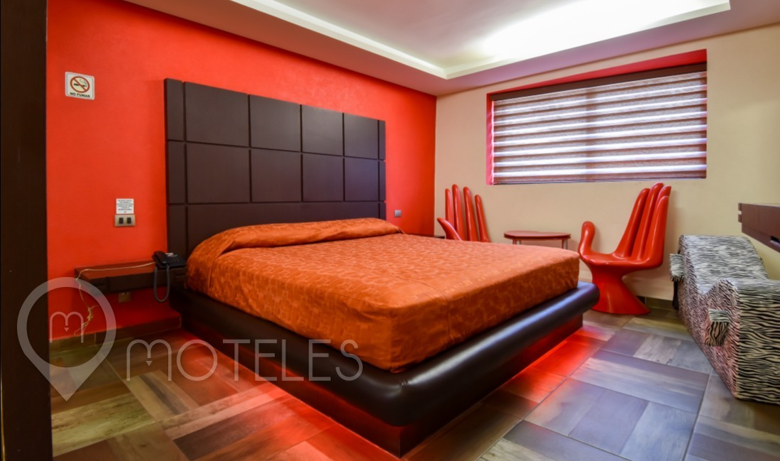 Habitacion Deluxe del Motel La Raza
