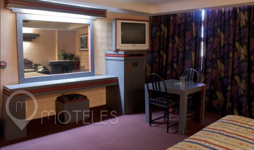 Habitacion King Size del Motel La Rosa