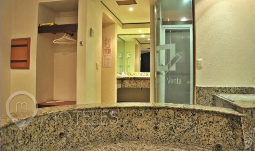 Habitacion Hotel Jacuzzi del Motel La Venta