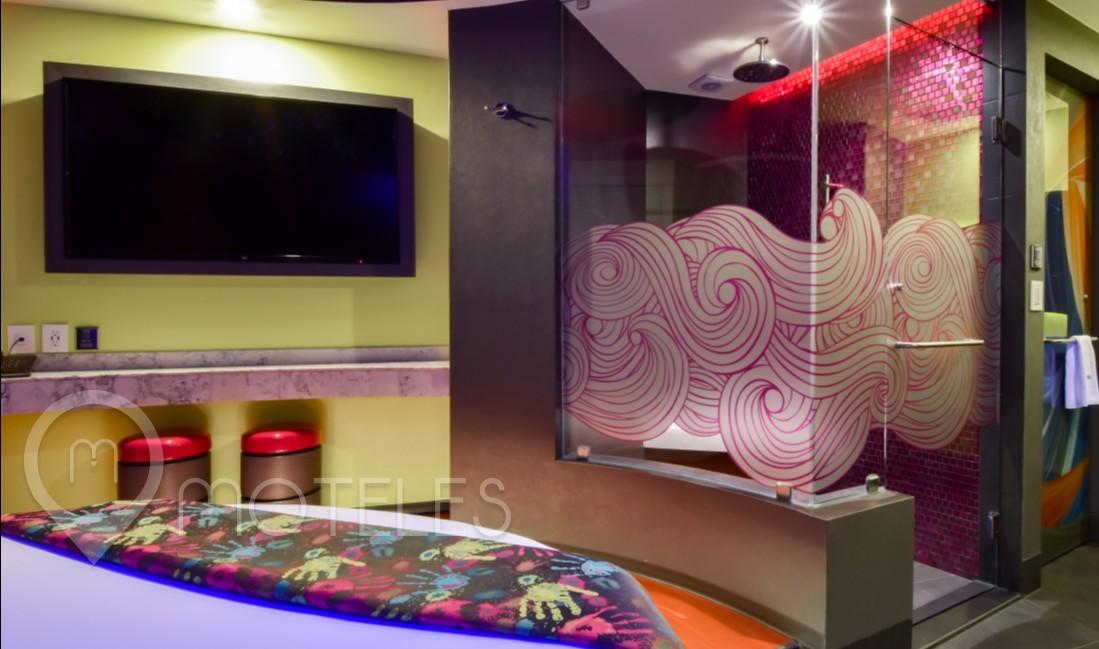 Habitacion Love Suite  del Motel Le Rêve