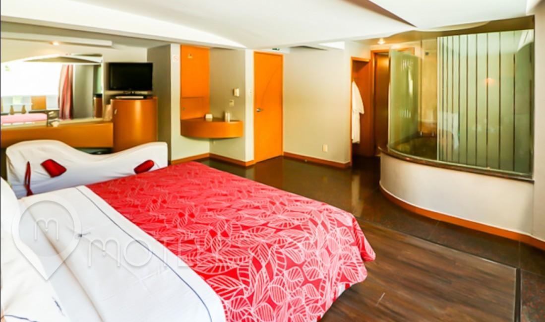 Habitacion Master Jacuzzi del Motel Leo
