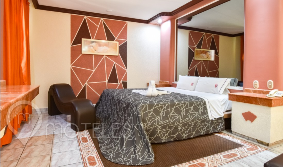 Habitacion Jacuzzi del Motel Lexus