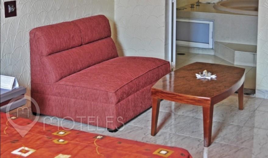 Habitacion Jacuzzi del Motel Los Cedros