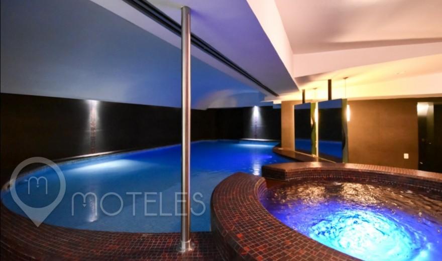 Habitacion Alberca VIP del Motel Lua Hotel & Villas