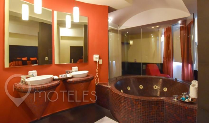 Habitacion Jacuzzi Elite del Motel Lua Hotel & Villas