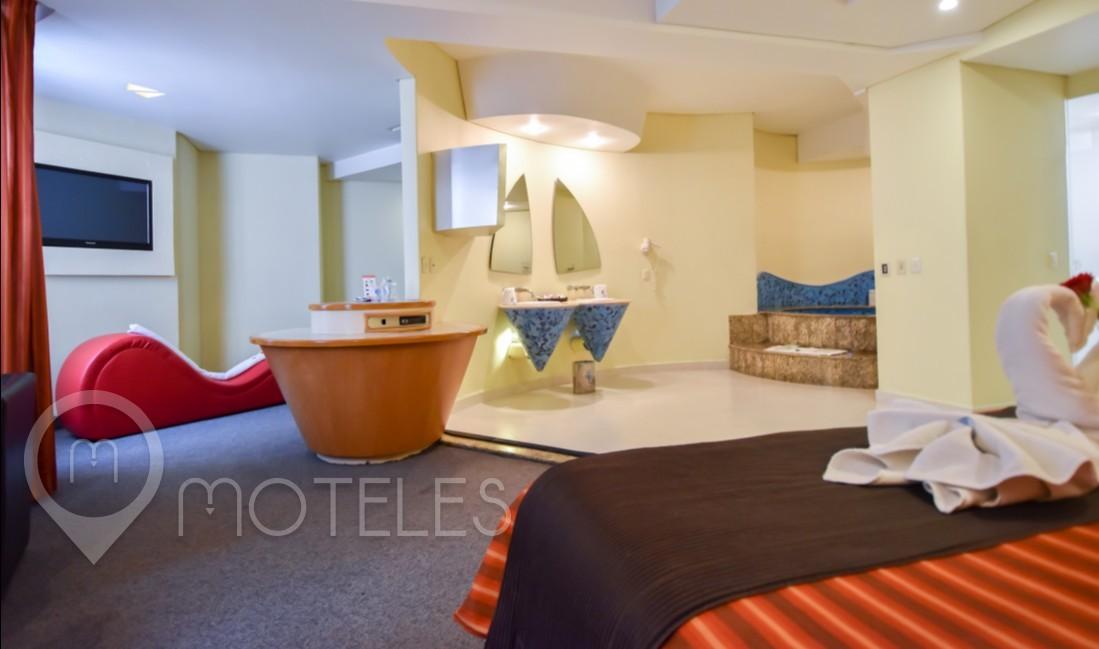 Habitacion Jacuzzi VIP Torre del Motel Lua Hotel & Villas