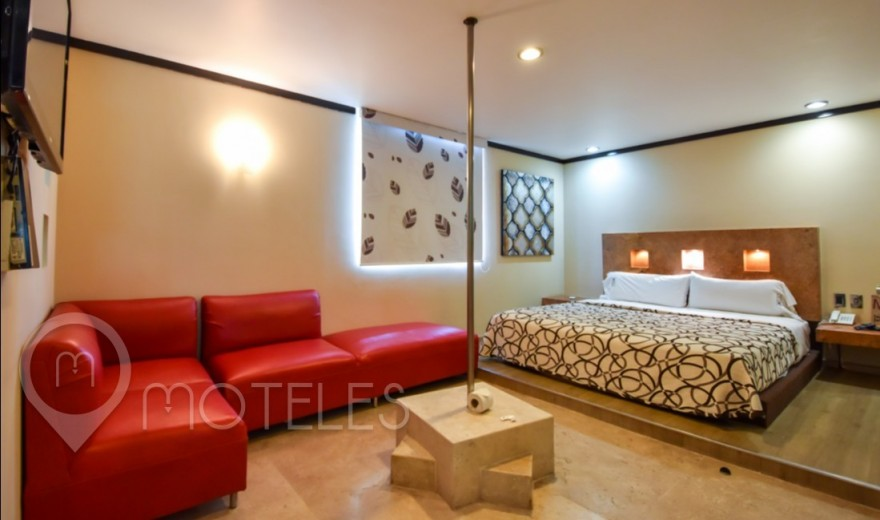 Habitacion Jacuzzi del Motel M Motel & Suites - Tláhuac