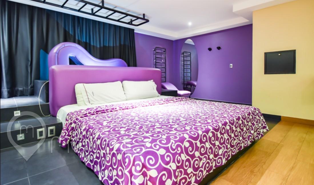 Habitacion Jr. Suite del Motel Maxíntimo