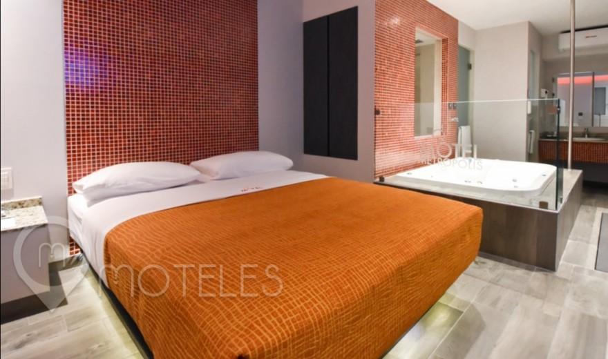 Habitacion Suite Jacuzzi  del Motel Metrópolis