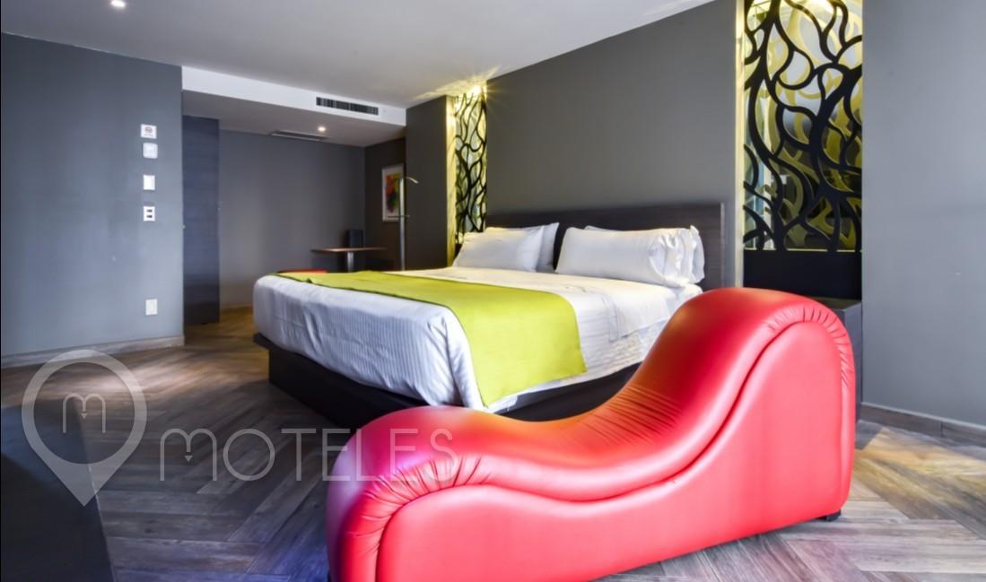 Habitacion Villa Jacuzzi del Motel Metropolitan