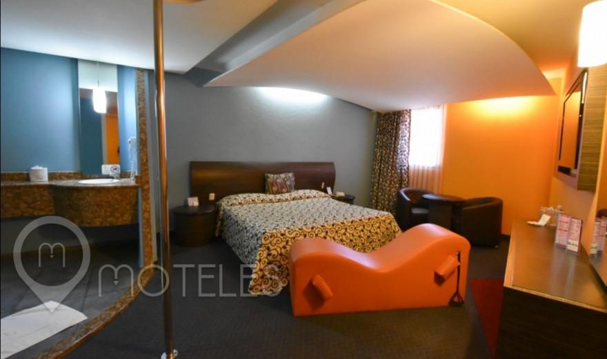 Habitacion Sencilla  del Motel La Flor