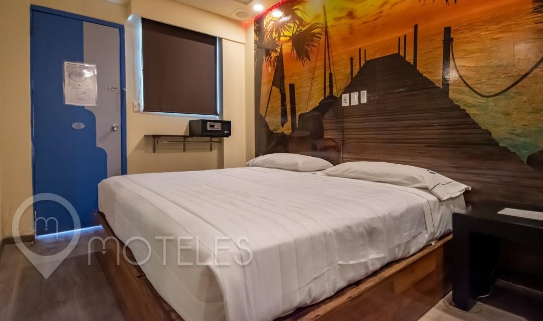 Habitacion Jacuzzi del Motel Muy