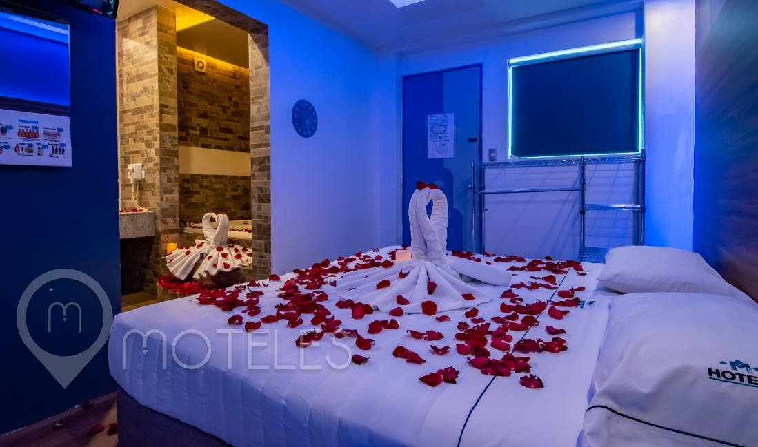Habitacion Romántica del Motel Muy