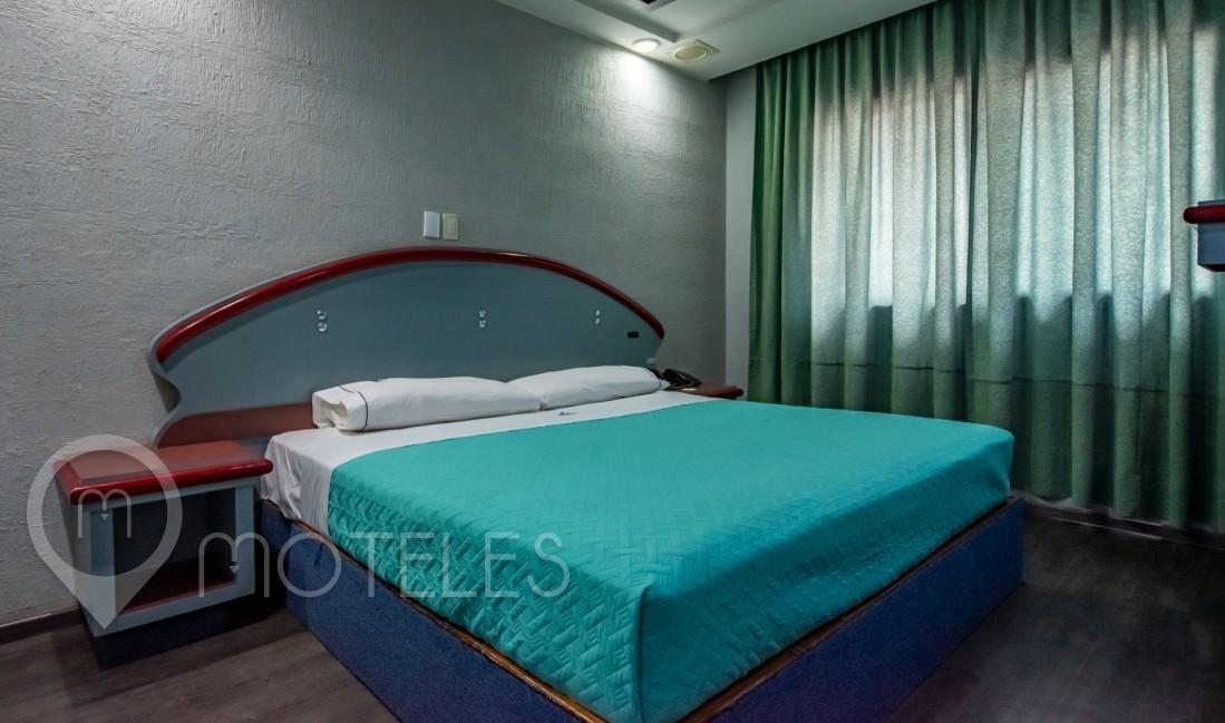 Habitacion King Size del Motel Muy