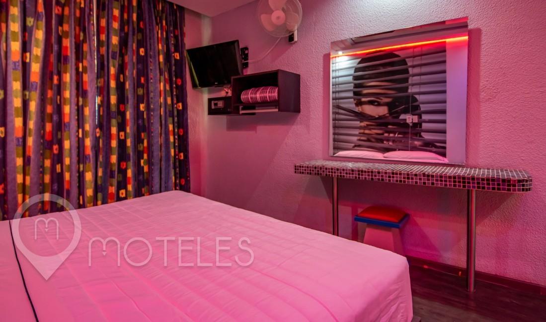 Habitacion Sensaciones del Motel Muy