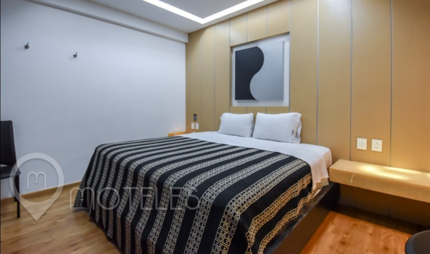 Habitacion Jacuzzi del Motel Newport Villas & Suites