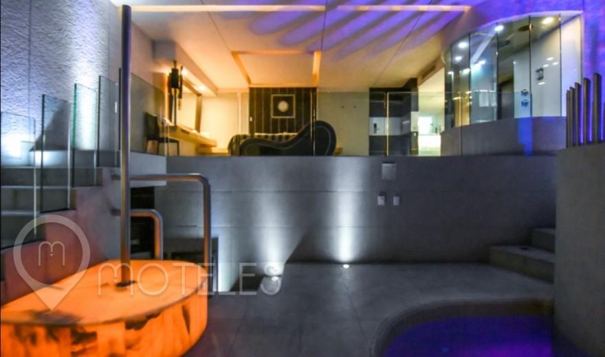 Habitacion Presidencial del Motel Newport Villas & Suites