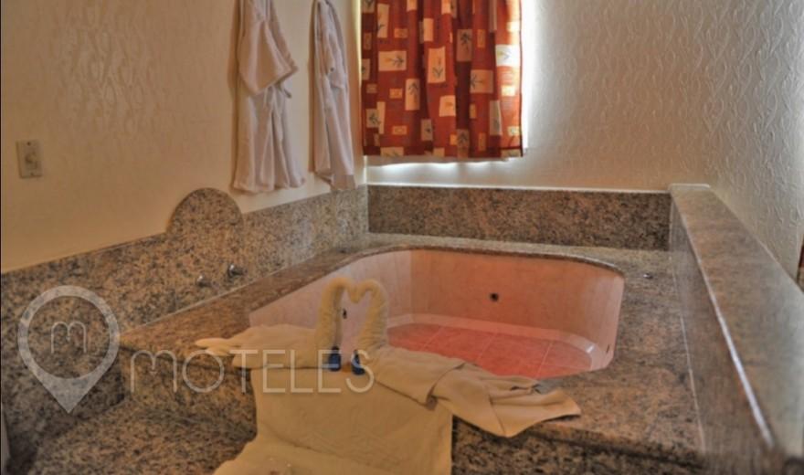 Habitacion Suite Jacuzzi del Motel Auto Hotel Niza