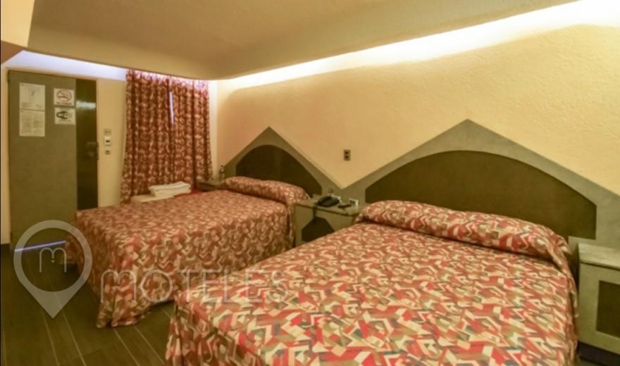 Habitacion Doble Sencilla del Motel Olimpo