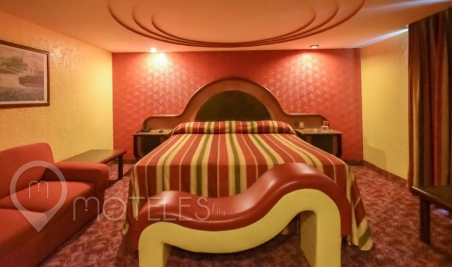 Habitacion Jacuzzi del Motel Olimpo