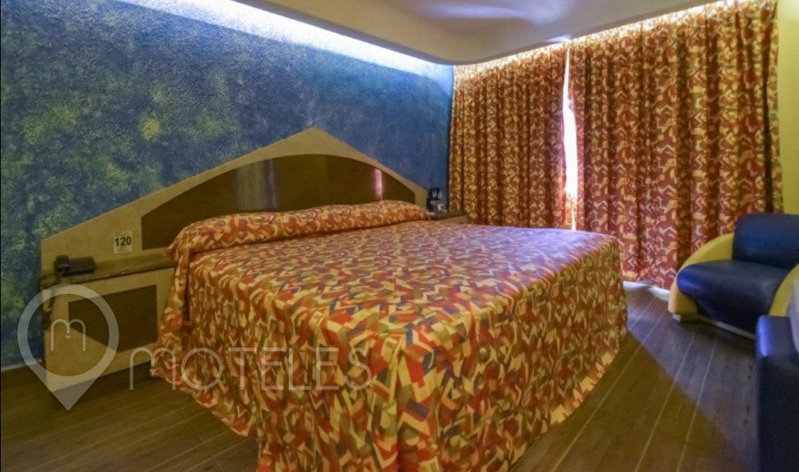 Habitacion King Size del Motel Olimpo