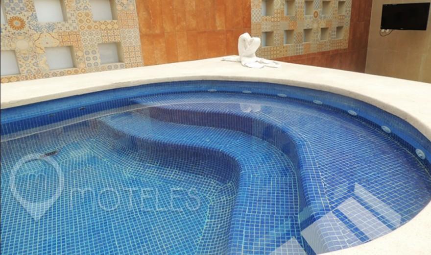 Habitacion Villa Cielo del Motel Paraíso del Sur