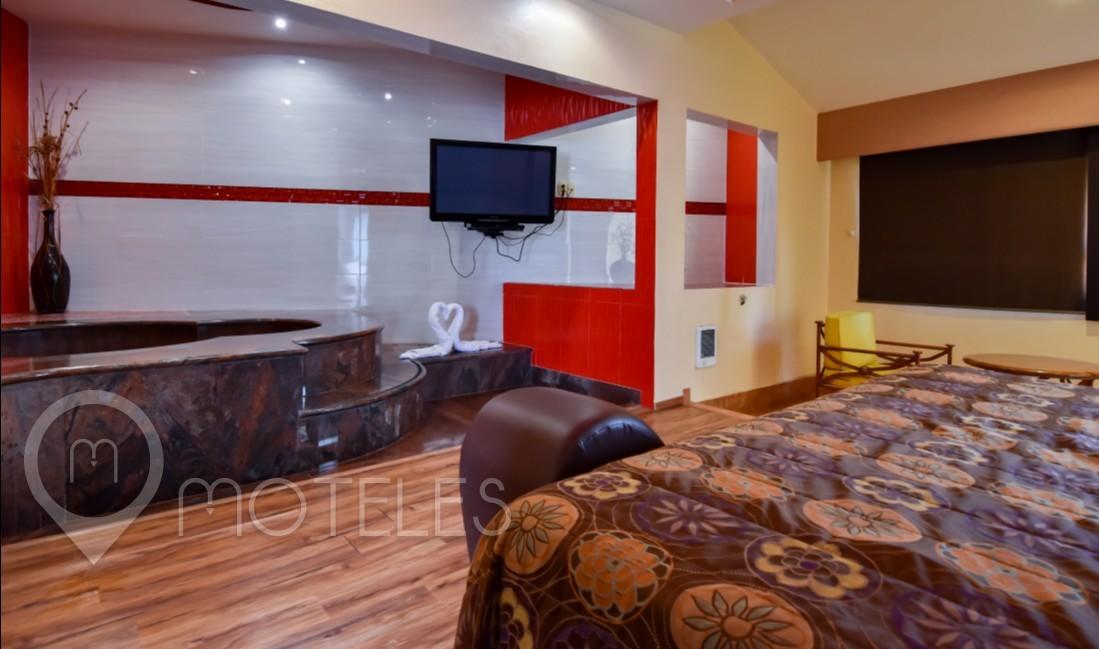 Habitacion Villa Jacuzzi del Motel Paraíso del Sur